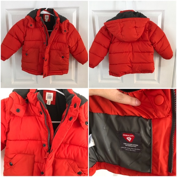 ca7a75abb Gap Red Winter Jacket Toddler Size 2 Years